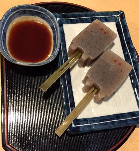 ぬりかべ味噌蒟蒻/鬼太郎茶屋