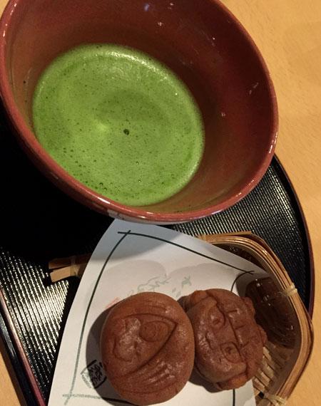 抹茶セット/鬼太郎茶屋